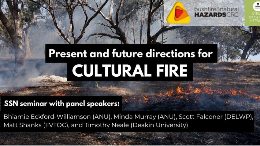 Present and Future Directions for Cultural Fire