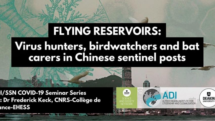 Flying Reservoirs: Virus hunters, birdwatchers and bat carers in Chinese sentinel posts