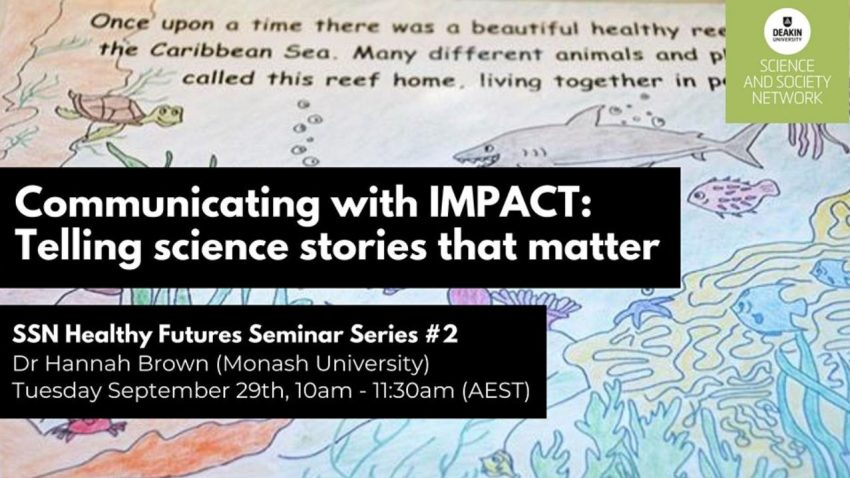 Communicating with IMPACT: Telling science stories that matter