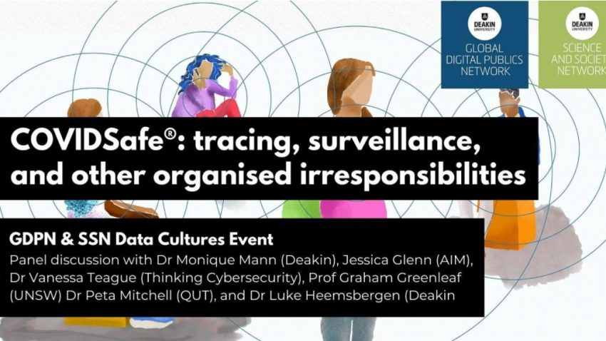 29 October - COVIDSafe®: tracing, surveillance, and other organised irresponsibilities
