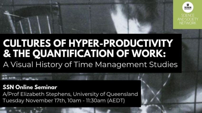 Cultures of Hyper-Productivity and the Quantification of Work