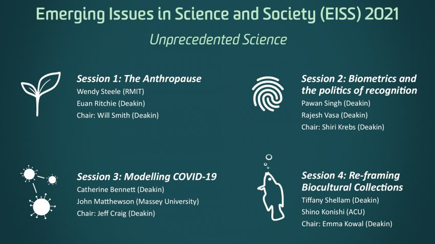 Emerging Issues in Science and Society (EISS) symposium